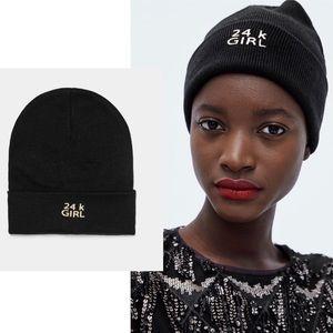 NWT Zara Beanie Hat